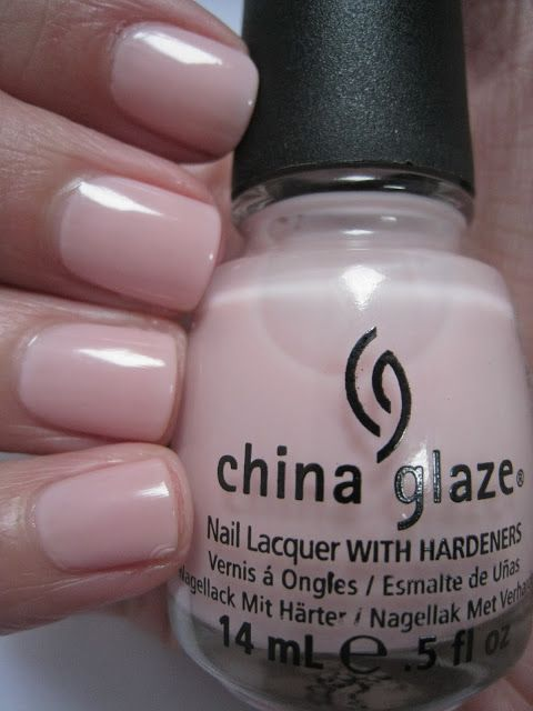 China-Glaze-Innocence  Neutral nails. My favorite right now.