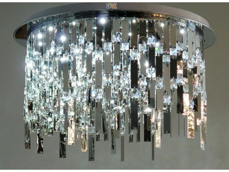 Candeeiro de tecto: modern design Cristal/LED