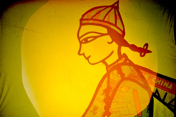 Boy Shadow Puppet #fireworkmakersdaughter