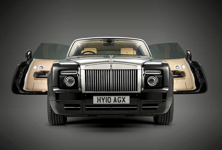 Rolls Royce Phantom #car #black #luxury