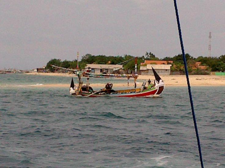 Heading to Gili Ketapang Island, Probolinggo, East Java, Indonesia.