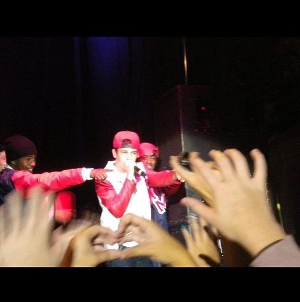 I wish sometime I could come to your concert: Austin Mahone