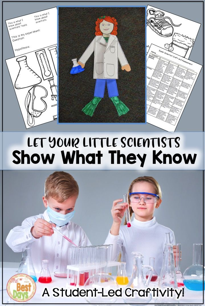 Do you want to watch your students grow as scientists?  This activity will allow them to show what they know by allowing students to create their own experiment!  All of the things you need for students to lead the way in learning!  Grab it now at The Best Days!