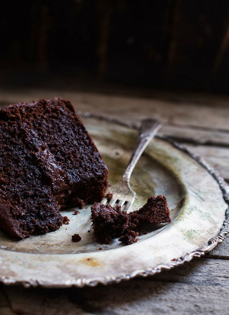 Rústica: Pastel Azteca de Chocolate