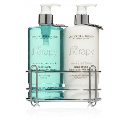 Hand Care Duo | Spa Therapy | Gilchrist & Soames  | no parabens, phthalates urea, DEA, or TEA | Gilchrist & Soames