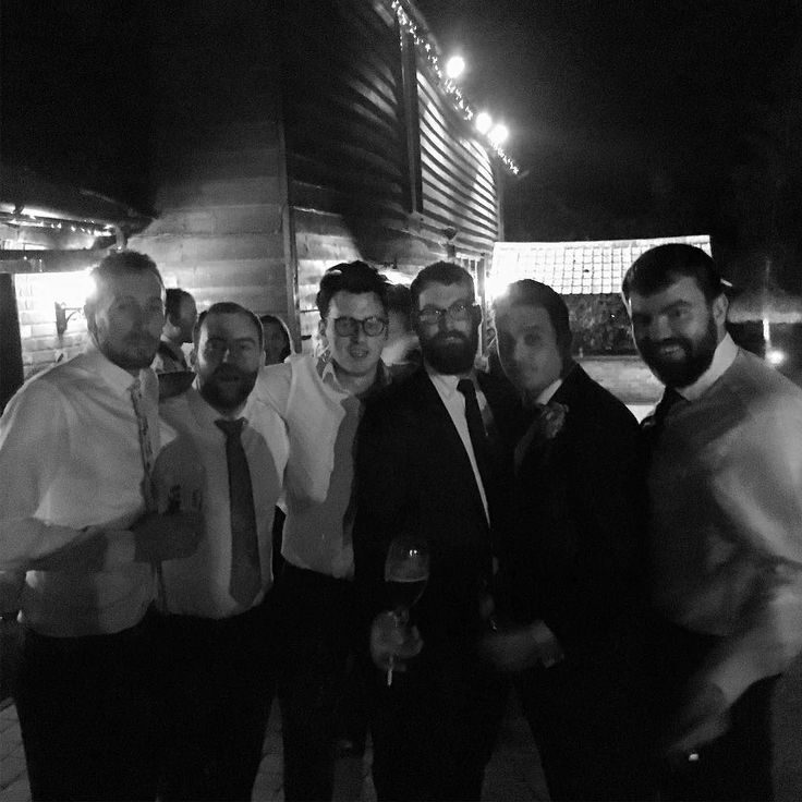 Great to get everyone back together again for @jamiet87 and @cpharez wedding! Such a fun evening great to share it with you!