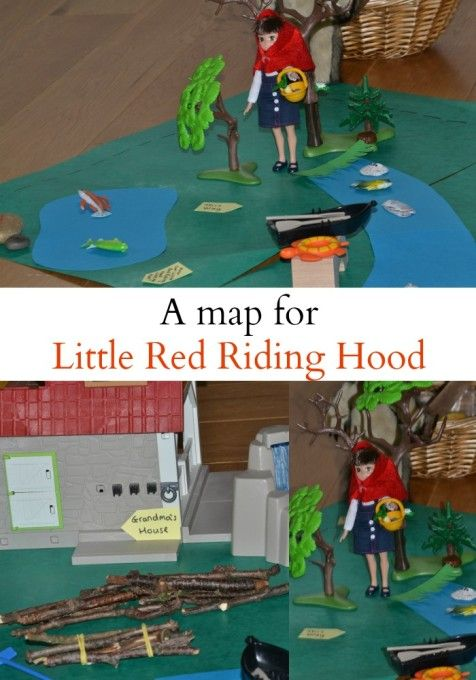 Map Reading and Problem Solving with Little Red Riding Hood - How fun is this!