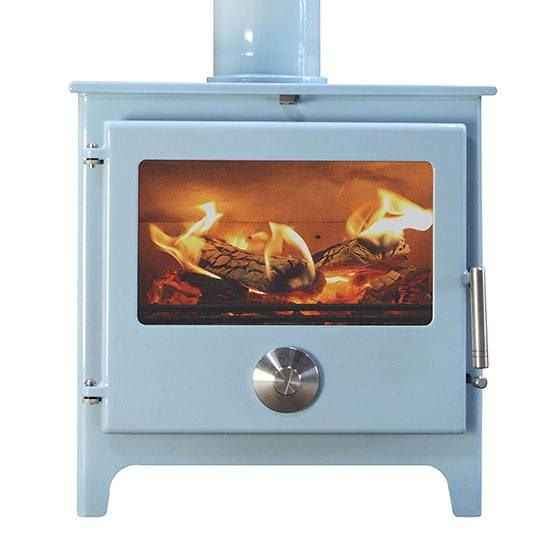 Baby Blue Wood Burning Stove Warmed By The Fire Pinterest And Home Fireplace