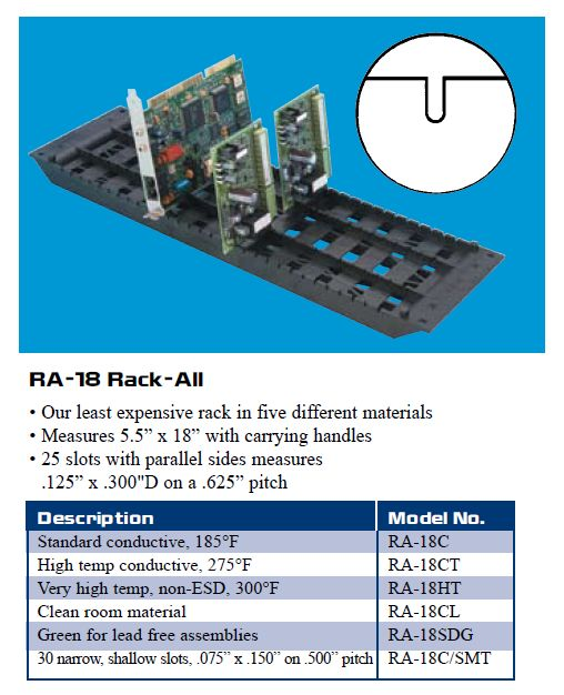 RA-18C Rack-All (box of 10)