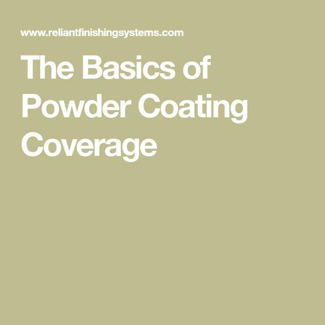The Basics of Powder Coating Coverage