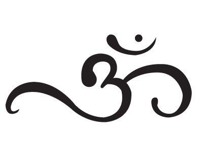 El símbolo Om - Representa nuestra conexión con el universo. Mente, cuerpo, y alma entrelazados en un símbolo, un sonido. El sonido del universo.