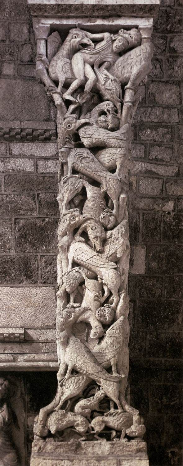Bien-aimé 173 best Romanesque style images on Pinterest | Romanesque art  FB34