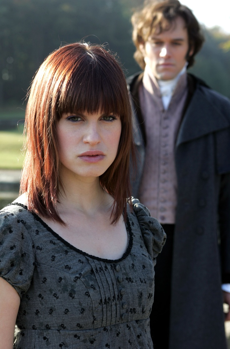 Amanda and darcy from lost in austen readaption of pride