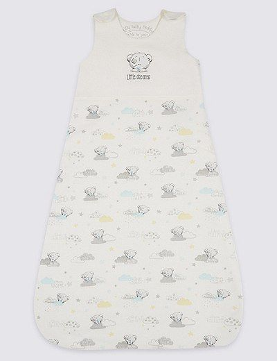 Pure Cotton 2.1 Tog Tatty Teddy Sleeping Bag | Marks & Spencer London