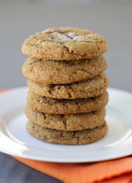 Pumpkin Gingersnap Cookie Recipe from twopeasandtheirpod.com A fall favorite!