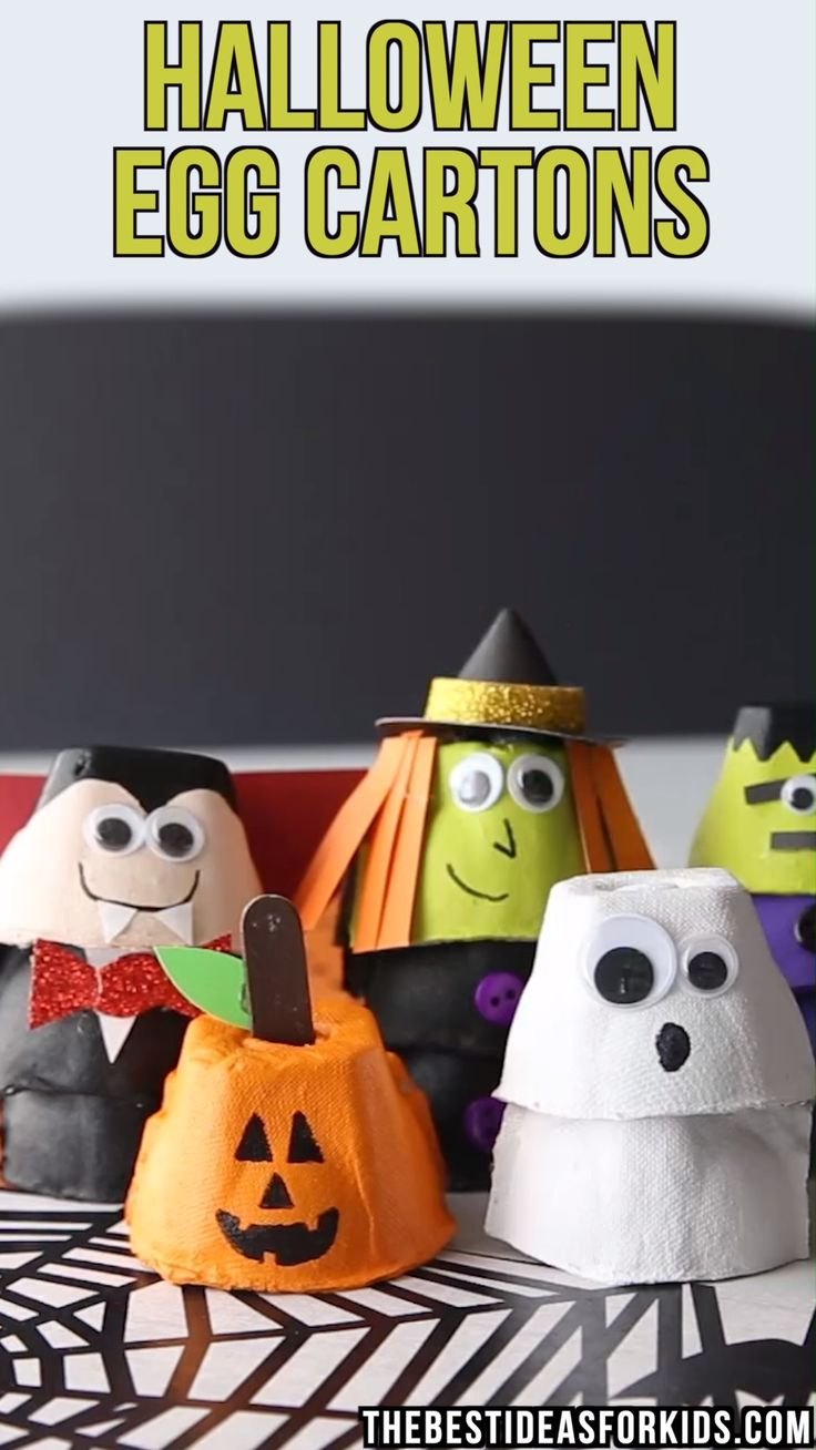 HALLOWEEN-EIKARTON-HANDWERKE 🎃   – Kids Crafts