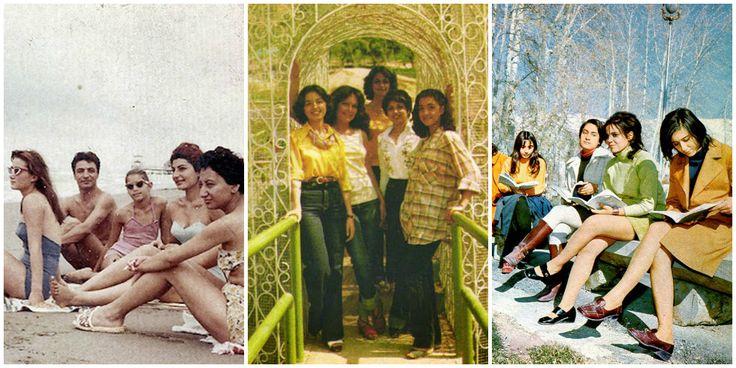 Πολύχρωμα μίνι, τολμηρά ντεκολτέ, βαμμένα μαλλιά και έντονο μακιγιάζ. Πως ήταν οι γυναίκες στο Ιράν πριν την επανάσταση του 1979. Μέσα σε λίγες ώρες άλλαξαν τα πάντα στη «μόδα»