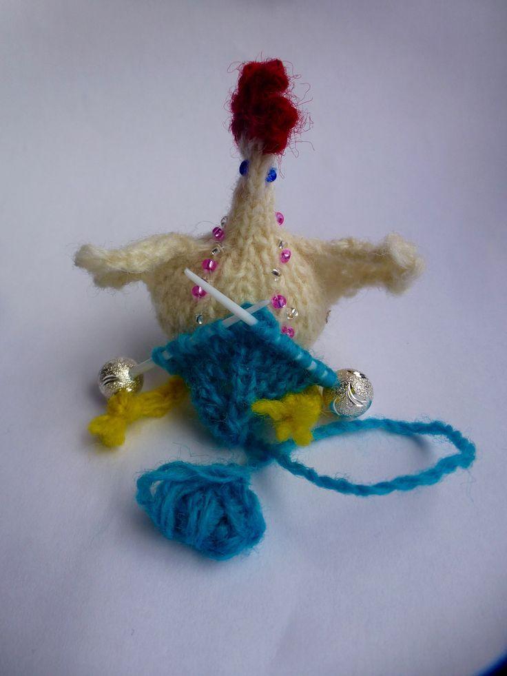 knitting chicky chick