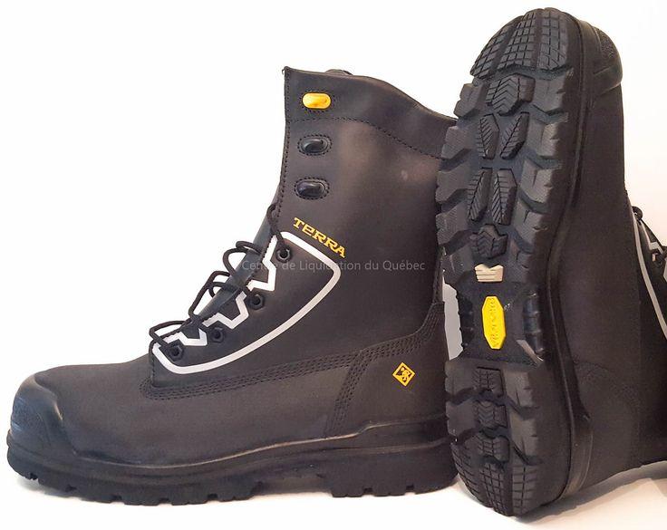 Chaussure de sécurité Terra – Leduc (botte sécurité) - Price:199.99  Chaussure de sécurité Terra Leduc pour homme. Ils sont fabriquée avec des matériaux robustes, des systèmes de confort de haute technologie et des semelles d'usure durable. C'est de l'équipement solide. Les chaussures de sécurité Terra Leduc sont certifié catégorie 1 par la C.S.A. Construites avec des embouts de sécurité et des plaques en acier, les […]  Cet article Chaussure de sécurité Terra – Leduc (botte sécurité) est…