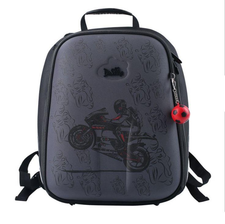 (36.80$)  Buy here  - Delune cartoon children school bags for boys printed backpack children's School bag Girl Safe High Quality child Bookbag