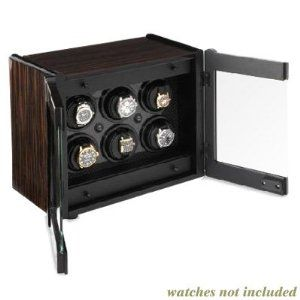 Orbita Avanti 6 Convertible 6-Watch Winder - Macassar w/Carbon Fiber Trim W70001 ORBITA CORPORATION. $4245.75. Upscale case features Macassar and carbon fiber trim. Glass, locking doors. Patented ROTORWIND® system rocks the watch, more closely resembling natural arm movement. Built-in storage drawers can hold watches, pens or other personal jewelry. Avanti winds six (6) automatic watches