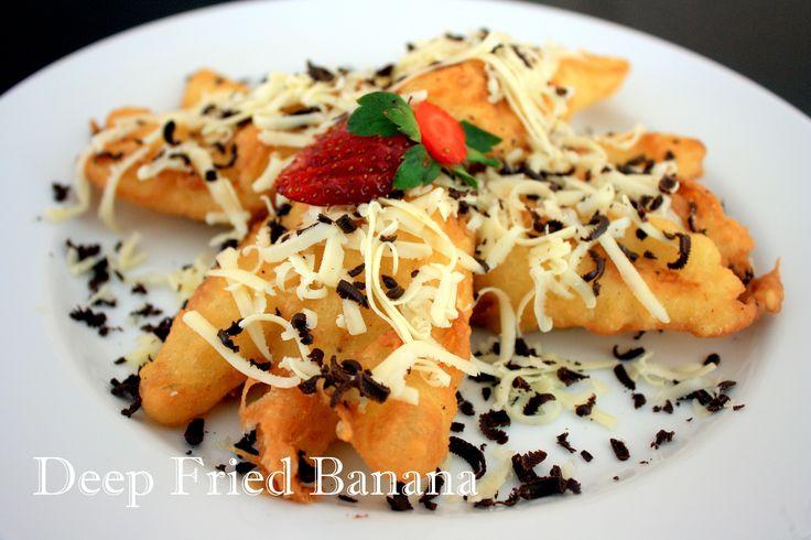 Delicious Deep Fried Banana @Crown Prince Hotel Surabaya - Avallon Restaurant Basuki Rahmat 123 - 127 East Java Surabaya - Indonesia Ph.+62 31 54 500 90 F.+62 31 54 500 89