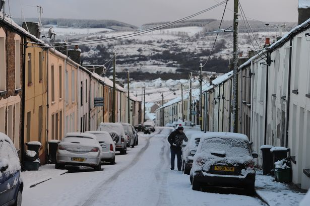 Met Office issues new snow warning for Wales which covers Cardiff and Valleys - Wales Online