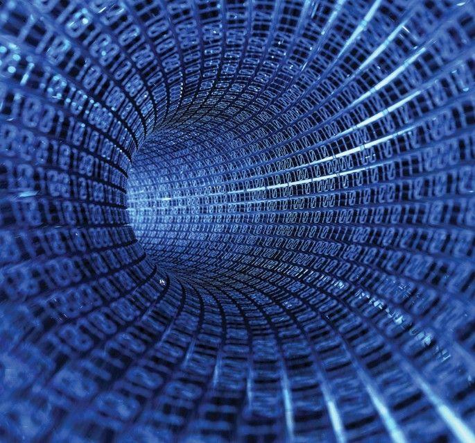 SK Evolution IV fotobehang Binary Code art. 1387