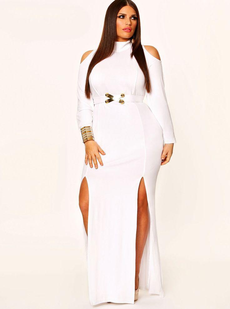 white plus size dresses 07 #plus #plussize #curvy   plus size