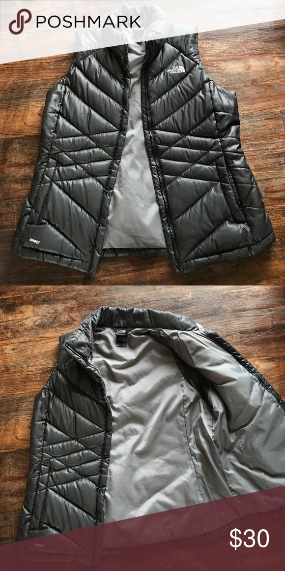Black North Face Differ Vest Women's large black North Face Puffer vest The North Face Jackets & Coats Puffers