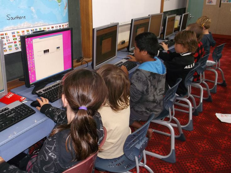 Digital classroom at Moturoa School