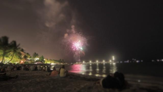 july 4th fireworks in key west