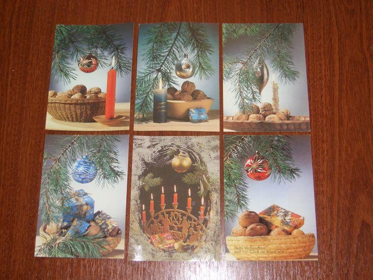 weihnachtskarten ddr ddr nostalgie weihnachtskarten in sachsen anhalt sonstiges. Black Bedroom Furniture Sets. Home Design Ideas