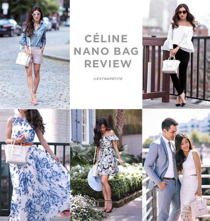 Celine luggage nano bag video review + how to care for & clean leather designer handbags!