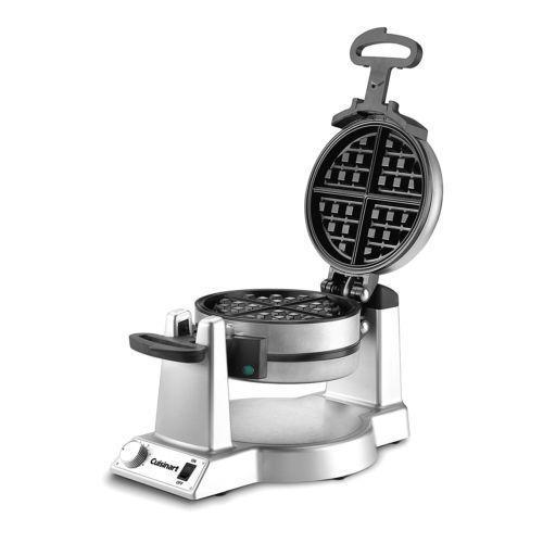 Waring Pro Double Belgian Waffle Maker Iron Gourmet Baker Breakfast Commercial - #Cuisinart