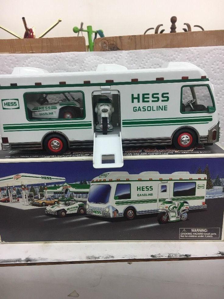 Hess Recreation Van with Dune Buggy & Motorcycle 1998