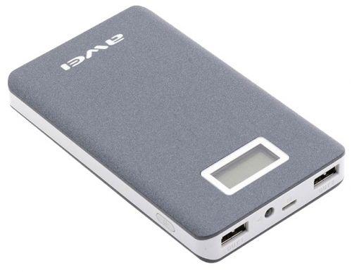 Портативный аккумулятор Awei Power Bank p83k 10000mA  в интернет магазине внешних аккумуляторов с бесплатной доставкой по Москве, или России при заказе на сумму от 3000 рублей. Ёмкость:10000 мАч Корпус: пластик