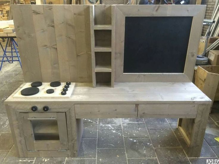 Speeltafel playtable kids by Jorg houten meubels