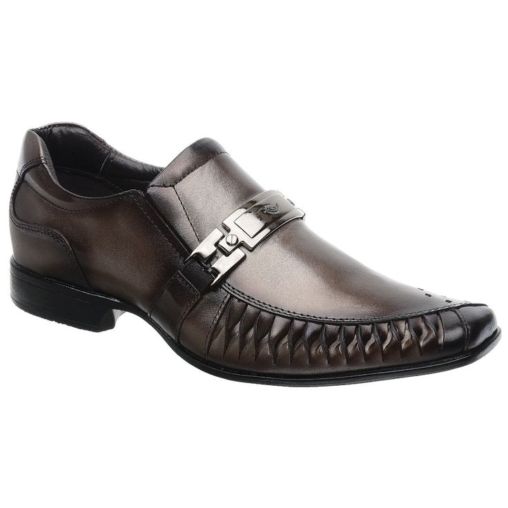 Sapato Rafarillo Las Vegas em Couro Topázio com Solado em Borracha 7849 - FKV Calçados