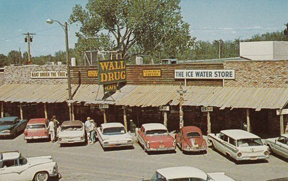 Wall,South Dakota, Wall Drug Store Home of Life Si…