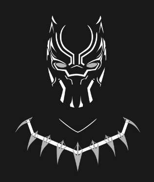 Simple Black Panther Cross Stitch Pattern Very Easy