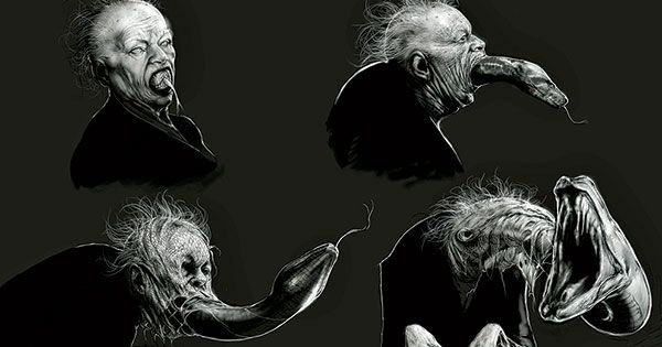 10 Original Harry Potter Sketches That Show How Scary The Movies Could've Been !