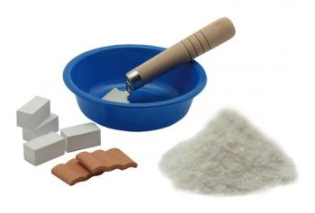 Cement for your toy buildings