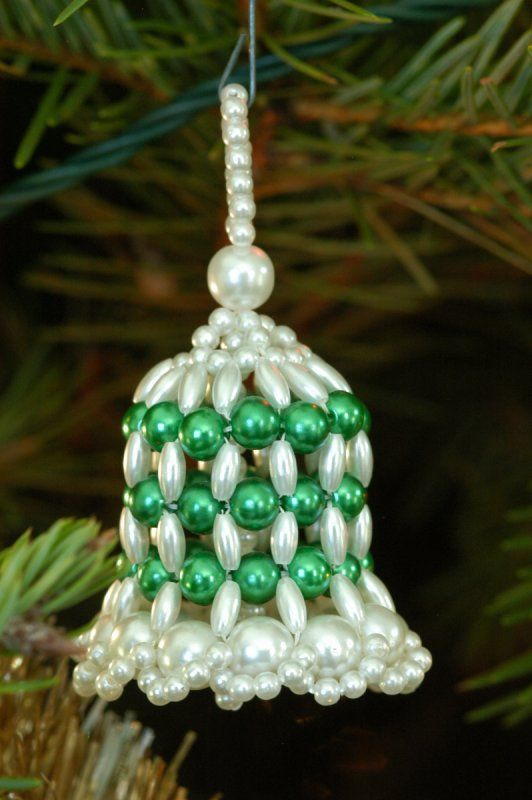 Free Christmas Beaded Bell Directions | Beaded Bell photo - Bill Mondjack photos at pbase.com