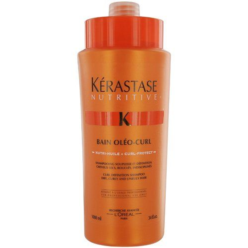 KERASTASE by Kerastase NUTRITIVE BAIN OLEO-CURL SHAMPOO 34 OZ -- Continue to the product at the image link.