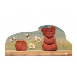 ♡Ostheimer Kapstok honingbeer♡  Houten kapstok honingbeer ~Ostheimer~