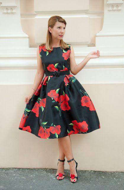 floral dress Romwe