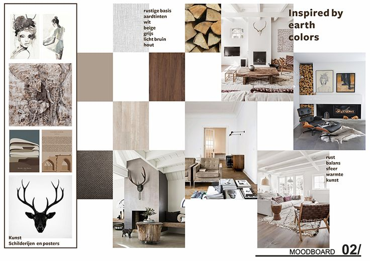 Inspired by earth colors_ moodboard