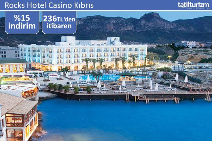 Rocks Hotel Casino Kıbrıs'ta %15 indirim ile 236 TL'den başlayan fiyatlarla rezervasyon yaptırın, yaz bitmeden tatil keyfini çıkarın...