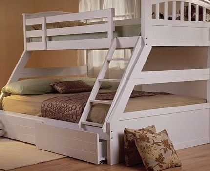 25 best ideas about triple sleeper bunk bed on pinterest pine bunk beds triple bed and 3. Black Bedroom Furniture Sets. Home Design Ideas